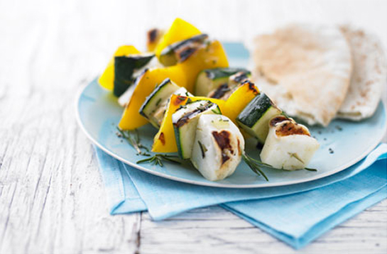 Halloumi Cheese & Oregano Skewers